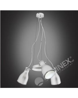 Lampa sufitowa Zwis Żyrandol Bjorn 3Pł 9167 Luminex