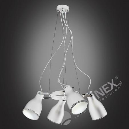 Lampa sufitowa Zwis Żyrandol Bjorn 4Pł 9168 Luminex