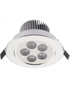 Lampa Oczko DOWNLIGHT LED5 SILVER 6822 Nowodvorski