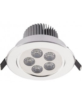 Lampa Oczko DOWNLIGHT LED5 SILVER 6822 Nowodvorski