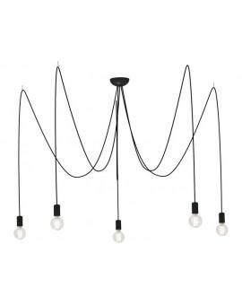 Lampa Zwis SPIDER BLACK 6788 Nowodvorski