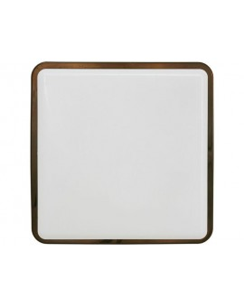 BATHROOM CEILING LAMP TAHOE SQUARE IP65 II brown gloss 3242