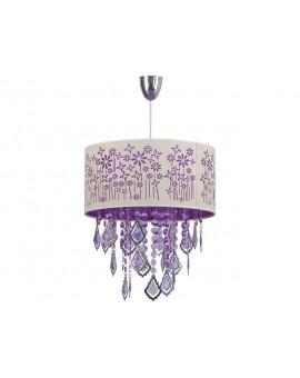 Lampe Deckenlampe Hängelampe Kristall Design Glamour PESCARA 4022