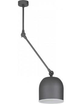 Deckenlampe Deckenleuchte Modern Metall Stahl Schwarzgrau Design ESKA 1503