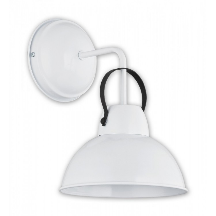 Industrial Wall lamp Ajla white O2370 K1 BIA