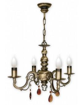 Lampa Żyrandol Antares O1314/W4 Lemir