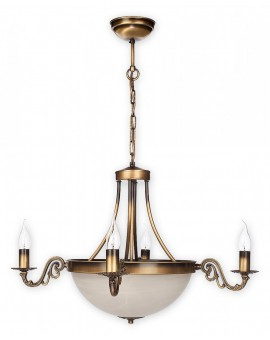 Lampa Żyrandol Arkadia O2124 W6 PAT Lemir