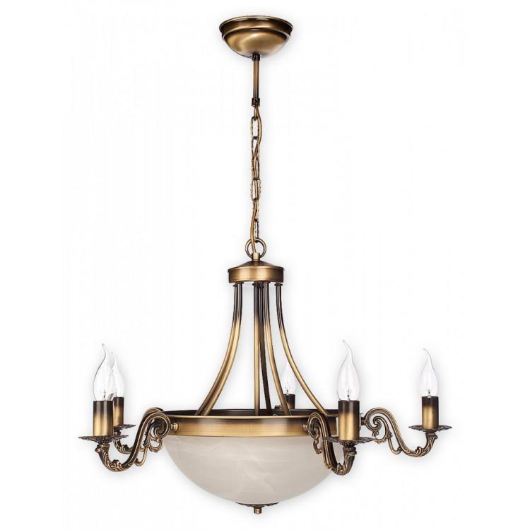 Lampa Żyrandol Arkadia O2125 W7 PAT Lemir