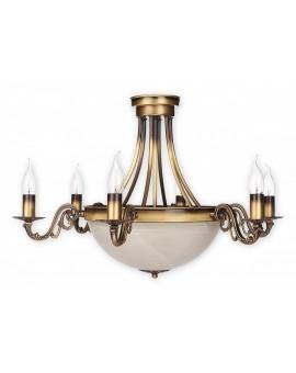 Lampa Żyrandol Arkadia O2136 W8 PAT Lemir