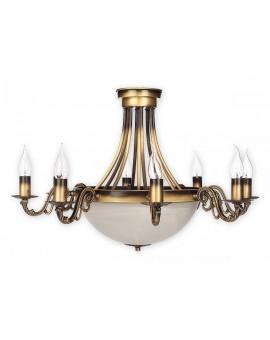 Lampa Żyrandol Arkadia O2137 W10 PAT Lemir