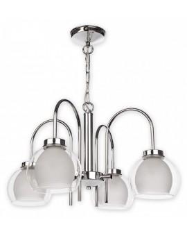 Lampa Żyrandol Dexy O2044 W4 CH Lemir
