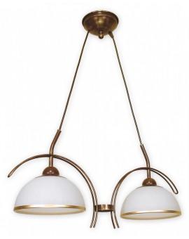 Lampa Żyrandol Flex O1482 BR Lemir