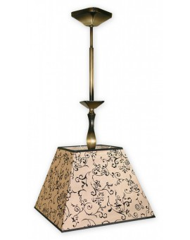 Lampa Zwis Kade Abażur O1047/W1 Lemir