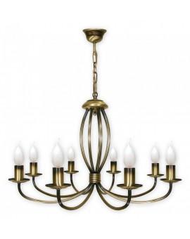 Lampa Żyrandol Korona 397/W8 Lemir