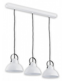 Ceiling Lamp Industrial Hanging lamp Ajla white O2373 W3 BIA