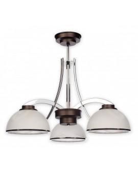 Lampa Żyrandol Noma O1733 W3 RW Lemir