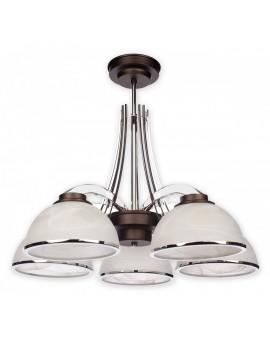 Lampa Żyrandol Noma O1735 W5 RW Lemir