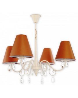 Lampa Żyrandol Velio Abażur O1964 AB BR Lemir