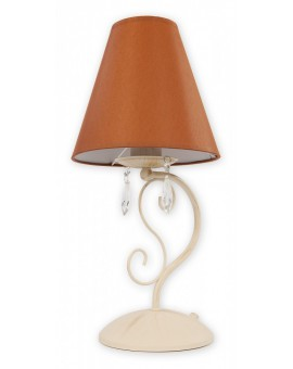 Lampa biurkowa Velio Abażur O1968 AB BR Lemir