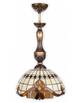 Lampa Zwis Witrażowy Vitrus O2061 W1 PAT Lemir
