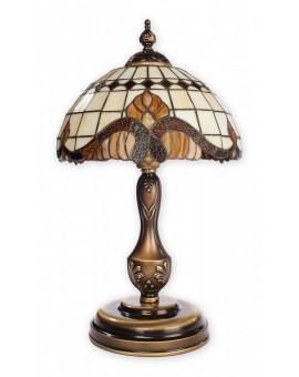 Lampa biurkowa witraż Vitrus O2068 LD1 PAT Lemir