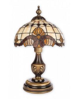 Lampa biurkowa witraż Vitrus O2068 LM1 PAT Lemir