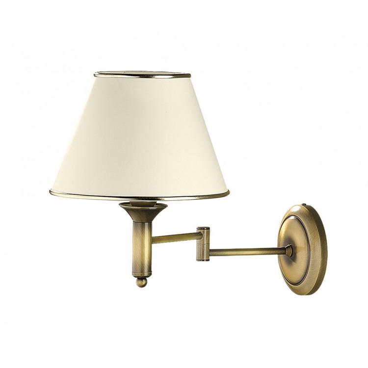 Wandlampe Wandleuchte Klassisch CLASSIC p.CLK ł 507 golden ecru