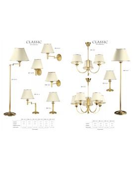 Tischlampe Nachtlampe CLASSIC CLL 206 golden ecru