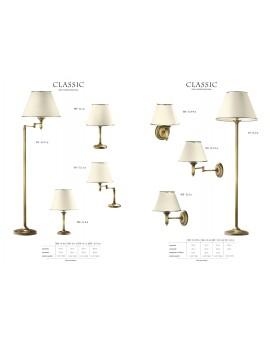Wandlampe Wandleuchte Klassisch CLASSIC p.CLKm 505 golden ecru