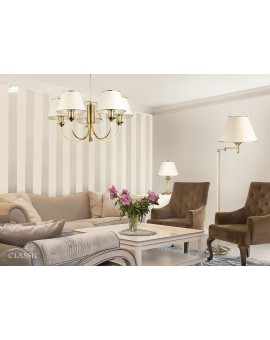 Tischlampe Nachtlampe CLASSIC CLL 206a golden ecru