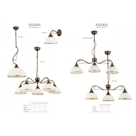 Lampa sufitowa Żyrandol klasyczny XSARA XS 5 kol 1177 Jupiter