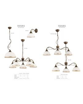 Lampa sufitowa Żyrandol klasyczny XSARA XS 3 kol 1175 Jupiter