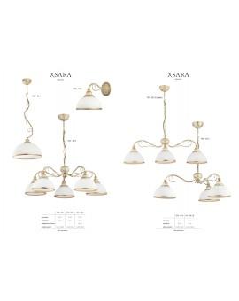 Lampa sufitowa Żyrandol klasyczny XSARA XS 5 ec. 1172 Jupiter