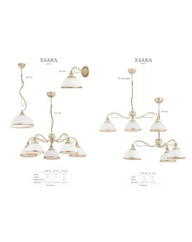 Lampa sufitowa Żyrandol klasyczny XSARA XS 3 ec. 1170 Jupiter