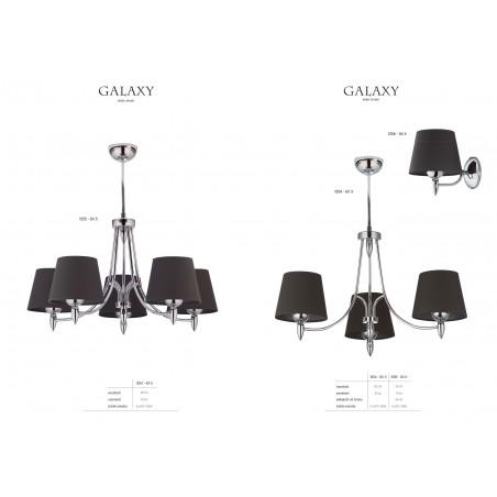 Lampa sufitowa Żyrandol GALAXY GX 5 1255 Jupiter