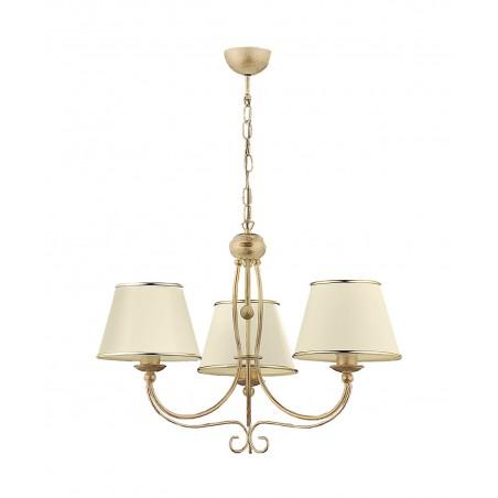 Lampa sufitowa Żyrandol klasyczny LAURA LA-3-E 513 Jupiter