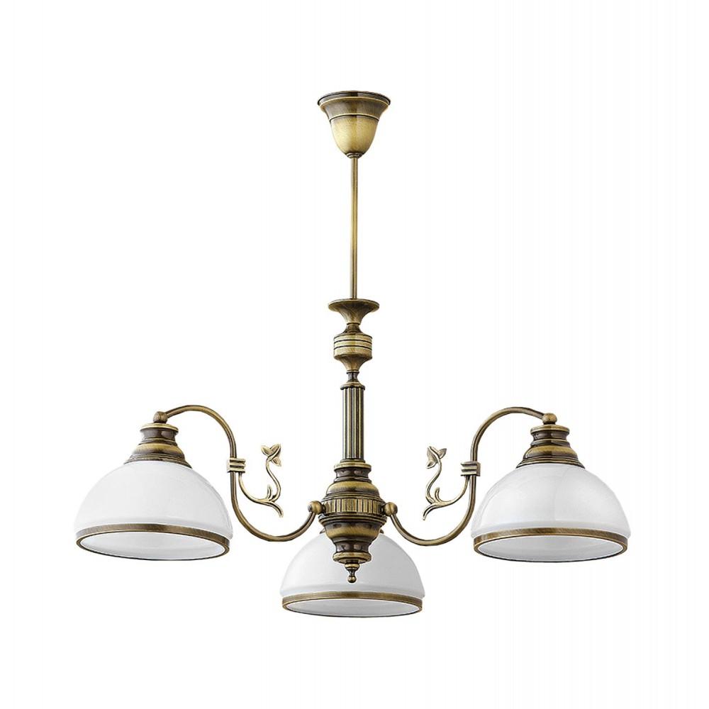 Lampa Żyrandol klasyczny patynowany ZEUS 622 Jupiter