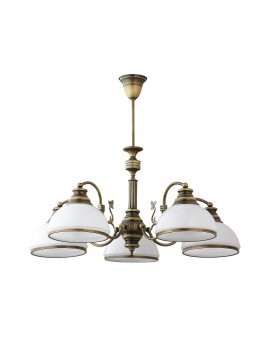 Lampa Żyrandol klasyczny patynowany ZEUS 624 Jupiter