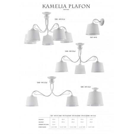 Lampa Żyrandol KAMELIA 1345 Jupiter