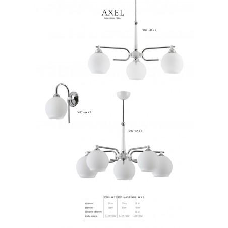 Lampa Żyrandol AXEL 1398 Jupiter