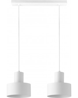 Lampa Rif 2 zwis biały 30904 Sigma