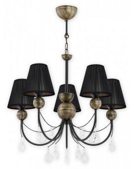 Lampa Żyrandol Agnis O2295 W5 CZA Lemir
