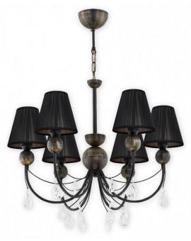 Lampa Żyrandol Agnis O2296 W6 CZA Lemir