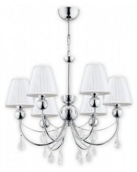Lampa Żyrandol Agnis O2296 W6 CH Lemir