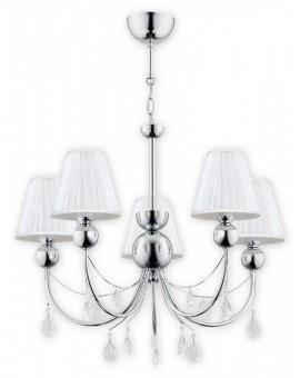 Lampa Żyrandol Agnis O2295 W5 CH Lemir