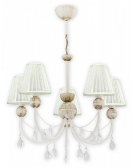 Lampa Żyrandol Agnis O2295 W5 AB Lemir