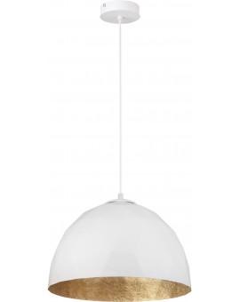 Lampa Zwis Diament M biały złoty 31373 Sigma