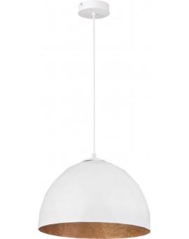 Lampa Zwis Diament M biały miedziany 31374 Sigma