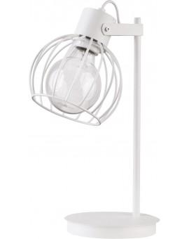 Lampa biurkowa Luto koło biały połysk 50087 Sigma