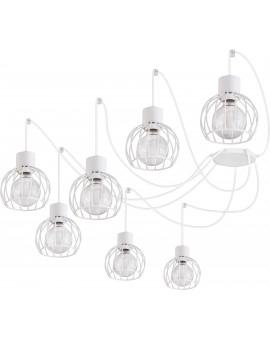 Lampa Zwis Luto koło 7 biały mat 31164 Sigma